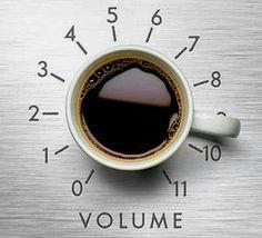 Pump up the volume #coffee