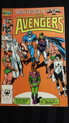 The Avengers no.266 (Marvel, 1986) vintage comic book