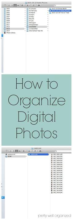 Pretty Well Organized: Digital Photo Organization