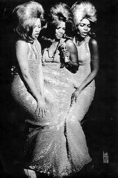 From the original Broadway production of Hair (1968) l-r: Emmaretta Marks, Melba Moore & Lorri Davis