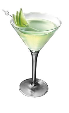 WHATS INSIDE: 1.25 oz.�Smirnoff Green Apple  1.25 oz. sour mix HOW TO MIX IT: Shake ingredients in a shaker with ice Strain into a martini glass Garnish with apple slices