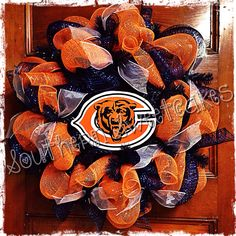 Chicago Bears Wreath!