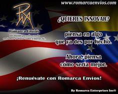 ¡Renueva con #RomarcaEnvios! #EnvioDeDinero #VenezolanosEnElMundo #VenezolanosEnElExterior