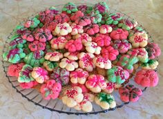 Merry Christmas! Festive Mini Christmas Cookies