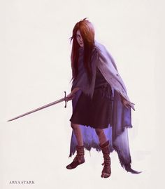 Arya Stark by ~JMichek on deviantART #GoT #pointyend