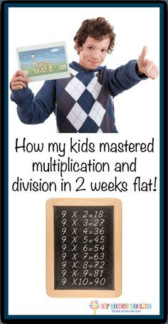 How to teach multiplication in 1 week flat! Check this out! Are you going crazy trying to figure out how to teach multiplication? How my kids mastered multiplication and division in 2 weeks flat! Math For Kids, Fun Math, Kids Fun, Kids Girls, Math Resources, Math Activities, Division Activities, Math Multiplication, Homeschool Math