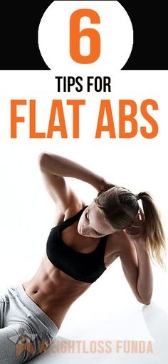 6 Tips for Flat #Abs