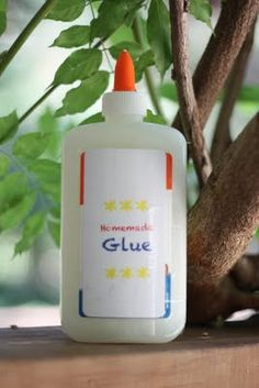 Make your own glue. Not exactly the most exciting craft, but if you're in a bind for either a project to do or some adhesive, it's good to have this recipe handy. I remember making my own glue as a kid and thinking it was fun.