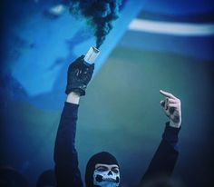 No Face, No Name! #pyro #ultras #hooligans #football