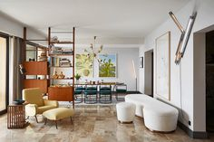 An apartment in Monaco can only be one thing - STYLISH! This mid-century vibing pad has a Paris...