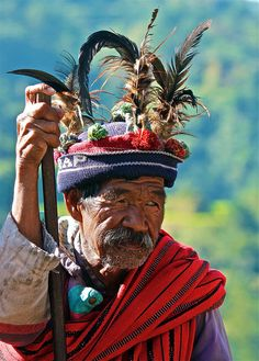Ifugao Tribal Leader Banaue Philippines by WOW Philippines Travel Agency, via Flickr