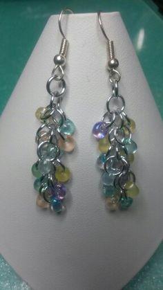 Shaggy loops earrings
