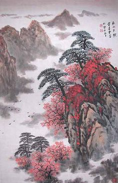 Chinese Landscape Painting - This is an Original Painting