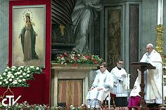 """READ: Pope's Homily: The Solemnity of Mary, Mother of God, 01/01/17 - """"Where there is a mother, there is a tenderness. By her motherhood, Mary shows us that humility and tenderness are not virtues of the weak but of the strong. She teaches us that we do not have to mistreat others in order to feel important (cf. Evangelii Gaudium, 288)....."""" - ZENIT News"""