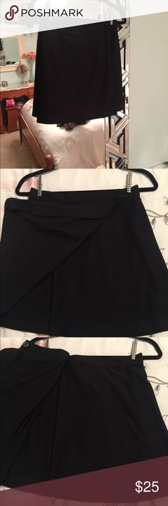 Black Tennis Skirt The same as my other listing but in black! 🖤 American Apparel Skirts Mini