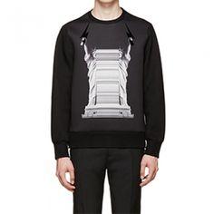 [PUERHOMME] Neil statue of liberty printed sweatshirt