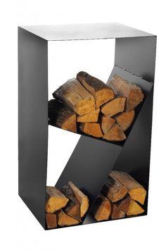 Magnus Fireside Log Holder Shelf CUBE