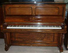 I will once again have an antique upright. Playing piano and singing...great passions of mine.