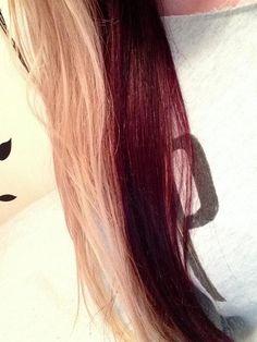 blonde  auburn hair. I want to do this so bad but im afraid the bleach will damage my hair.