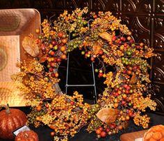 Autumn Berry Wreath 22