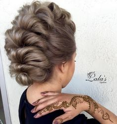 Mohawk Updo Hairstyle - Stylish Everyday Hairstyles with Updos