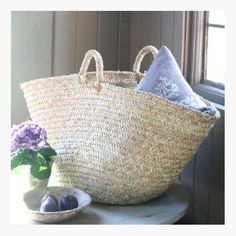 Moroccan Basket #Bags #Spring #Summer #Accessories