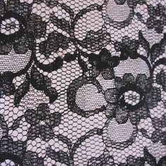 Description Looks like lace, but it's Cotton Jersey! If there is any lycra, it's a very small amount (maybe 3%). These would be perfect for sewing up some sexy undies or a cool shirt. Medium weight 2-