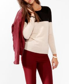 Colorblocked Sweater | FOREVER21 - 2027705247