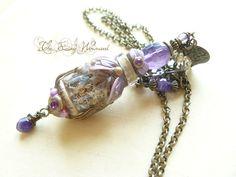 Purple Amethyst Vial by EnchantedTokenArt.deviantart.com on @DeviantArt