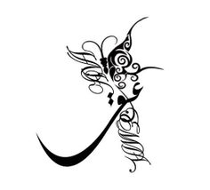 Love (Eshgh عشق) # Persian Calligraphy # Typo Emma & Ava - 2013 Sample # 3