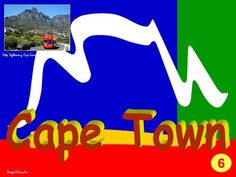 Cape Town este capitala legislativă a Republicii Africa de Sud (Pretoria fiind capitala administrativă, iar Bloemfontein capitala judiciară). Urcăm până la staţia funicularului de la poalele lui Table Mountain (Table Mountain are 1086 m)