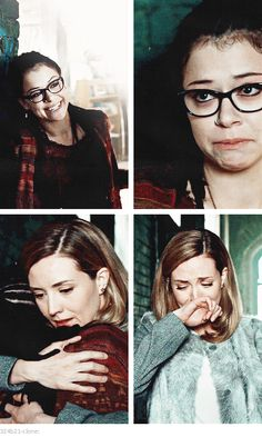 Cosima and Delphine... I cried during this part!