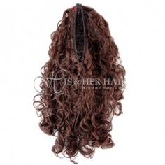 Fall and Wiglets Hairpieces : Human Hair Wig Banana Clip, Human Hair Wigs, Hair Pieces, Wig Hairstyles, Curly, Dreadlocks, Long Hair Styles, Beauty, Beleza