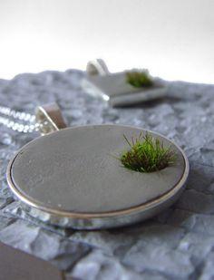 concrete #necklace                                                                                                                                                      More