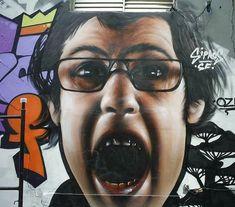 Graffiti from São Paulo, Brazil.