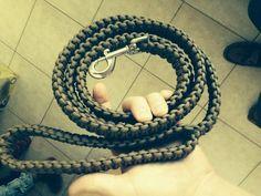 Paracord Dog Leash #animal #pet #weaving