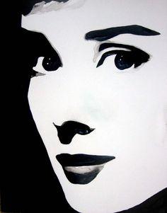 Audrey Hepburn Two by mixtapegoddess on deviantART