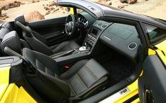 Lamborghini Gallardo Front Seats
