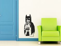 Lego Batman vinyl wall decals...great for decorating my boys room.