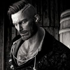 """Screenshot by Frans Bouma. Olgierd von Everec from """"Hearts of Stone"""", """"The Witcher"""" (polish game - """"Wiedźmin"""") Olgierd Von Everec, The Witcher 3, Wild Hunt, Game Art, Stone, 3d, Fictional Characters, Films, Digital Art"""