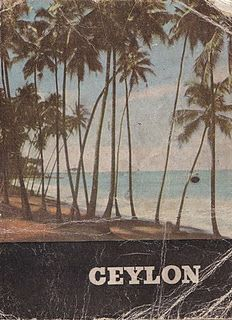 Ceylon; vintage travel poster