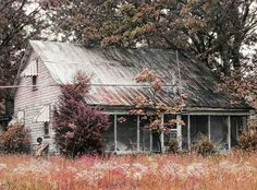 Abandoned farm house near Berryman, MO.   Photo by Discovered Dereliction