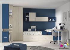 Dormitorio Cama nido mesa estanteríaarmario                              …