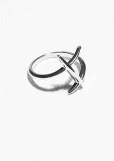 & Other Stories | Crisscross Ring