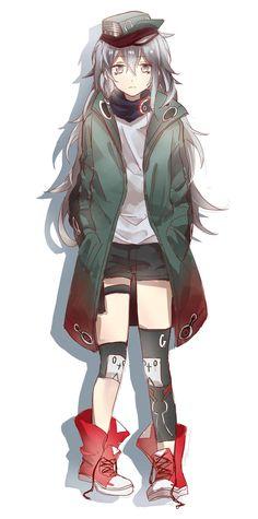 18 Ideas for fashion design ilustration girls Anime Girl Cute, Anime Art Girl, Anime Girls, Character Inspiration, Character Art, Character Design, Tomboy Art, Drawing Cartoon Faces, Anime Weapons