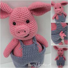 7 Beste Afbeeldingen Van Gehaakt Varken Crochet Chrochet En