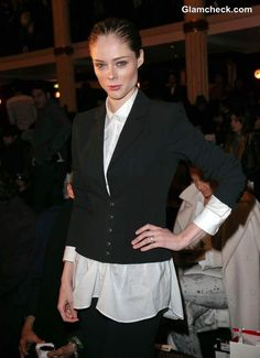 Coco Rocha Goes Androgynous at Jean Paul Gaultier's Fall/Winter 2013 Show Androgynous Look, Jean Paul Gaultier, Fall Winter, Blazer, Formal, Blouse, Casual, How To Wear, Shirts