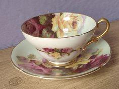 Antique English Bone China tea cup and saucer by ShoponSherman