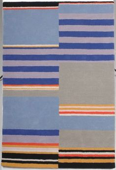 "Carpet based on Bauhaus Weimar design, 1922. Made in 2006 for the exhibition ""Modernism: Designing a New World 1914-1939"" in the Victoria and Albert Museum, London."