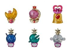 Gashapon Sailor Moon Prism Power Dome 2 Water Globe Colle...